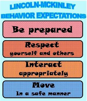 Behavior Expectations text